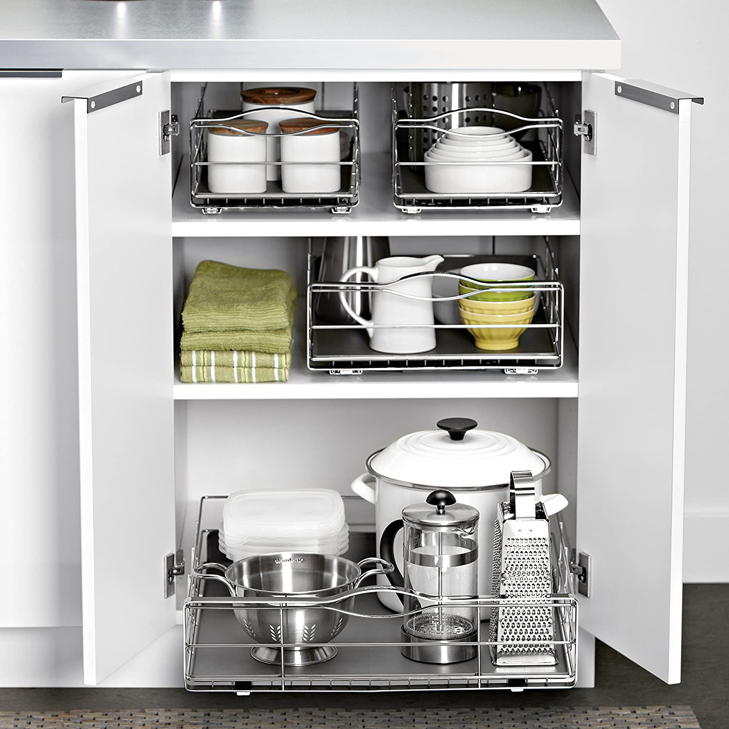 Simplehuman 20 Inch Pull Out Cabinet Organizer Heavy