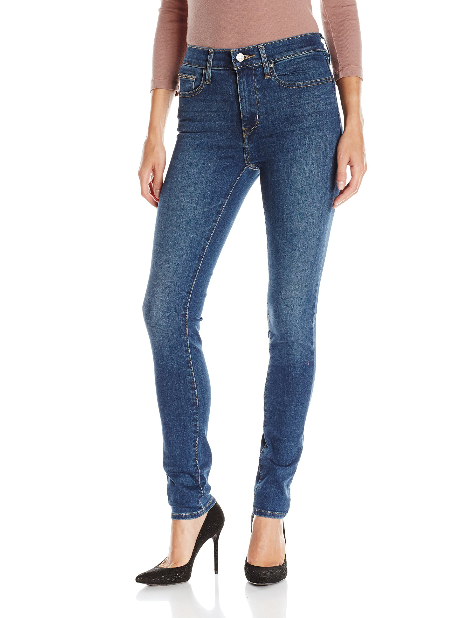 Levi's Women's Slimming Skinny Jean, Forest Lodge (89% Cotton, 9% Polyester, 2% Elastane), 31Wx30L