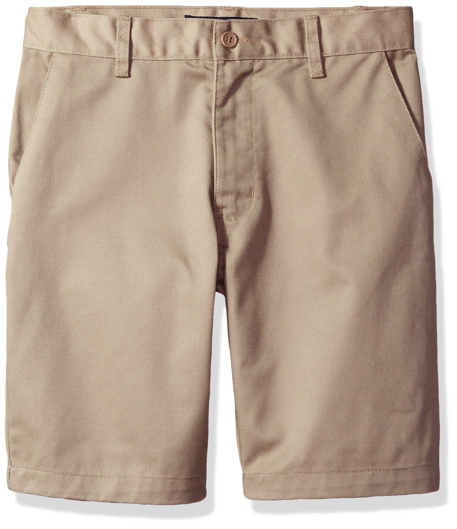 U.S. Polo Assn. Big Boys' Twill Short (More Styles Available), Khaki-IIIBEB, 20 by U.S. Polo Assn. (Image #1)