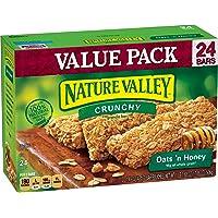 Nature Valley Granola Bars, Crunchy, Oats 'n Honey, 17.88 Ounce