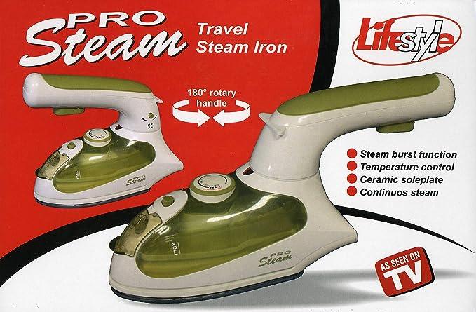 Lifestyle Pro Steam Reise-Dampfb/ügeleisen
