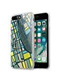 LAUT - NOMAD Case for iPhone 8 Plus / iPhone 7 Plus with Double Layer Protective Map Design