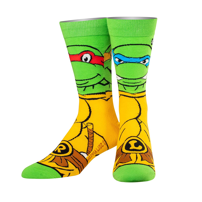 Odd Sox - Men's - Ninja Turtles - Funny Novelty Socks