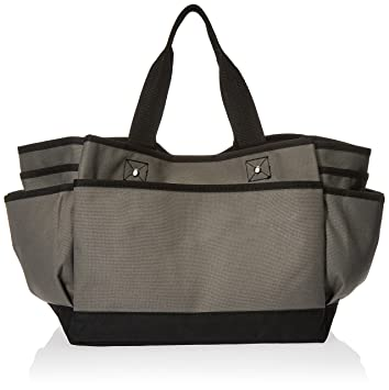 Amazon.com: ST4L266221330 Deluxe Professional Tote Bag, Grey: Home ...