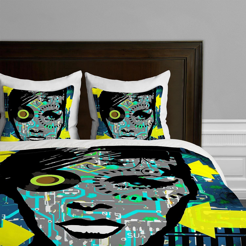 Deny Designs Amy Smith Alexandria Hotel Duvet Cover, Queen 12597-duvqun
