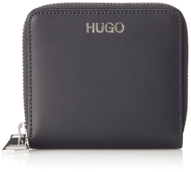 HUGO - Hoxton Sm Wallet, Carteras Mujer, Negro (Black), 1.5x11x12 cm (B x H T)