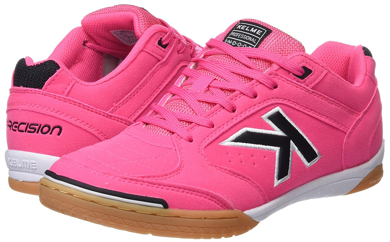 Amazon.com   KELME Boys Precision Low-Top Sneakers, Pink (Fucsia 154), 3 UK   Sneakers