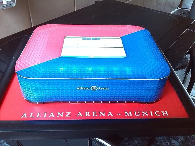 Fussball Stadion 3D-Modell der Allianz Arena-FC Bayern München ...