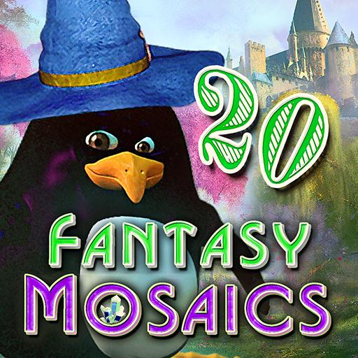 Fantasy Mosaics 20: Castle of Puzzles -