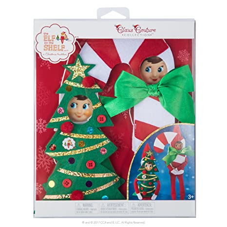fc4a857e4 Amazon.com  Elf on The Shelf Claus Couture Haha Holiday Costumes ...