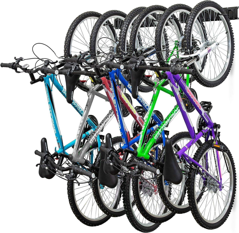 Bicycle Rack Storage Buckle Wall Hanger Mount Hook Parking Rack Road MTL Bike