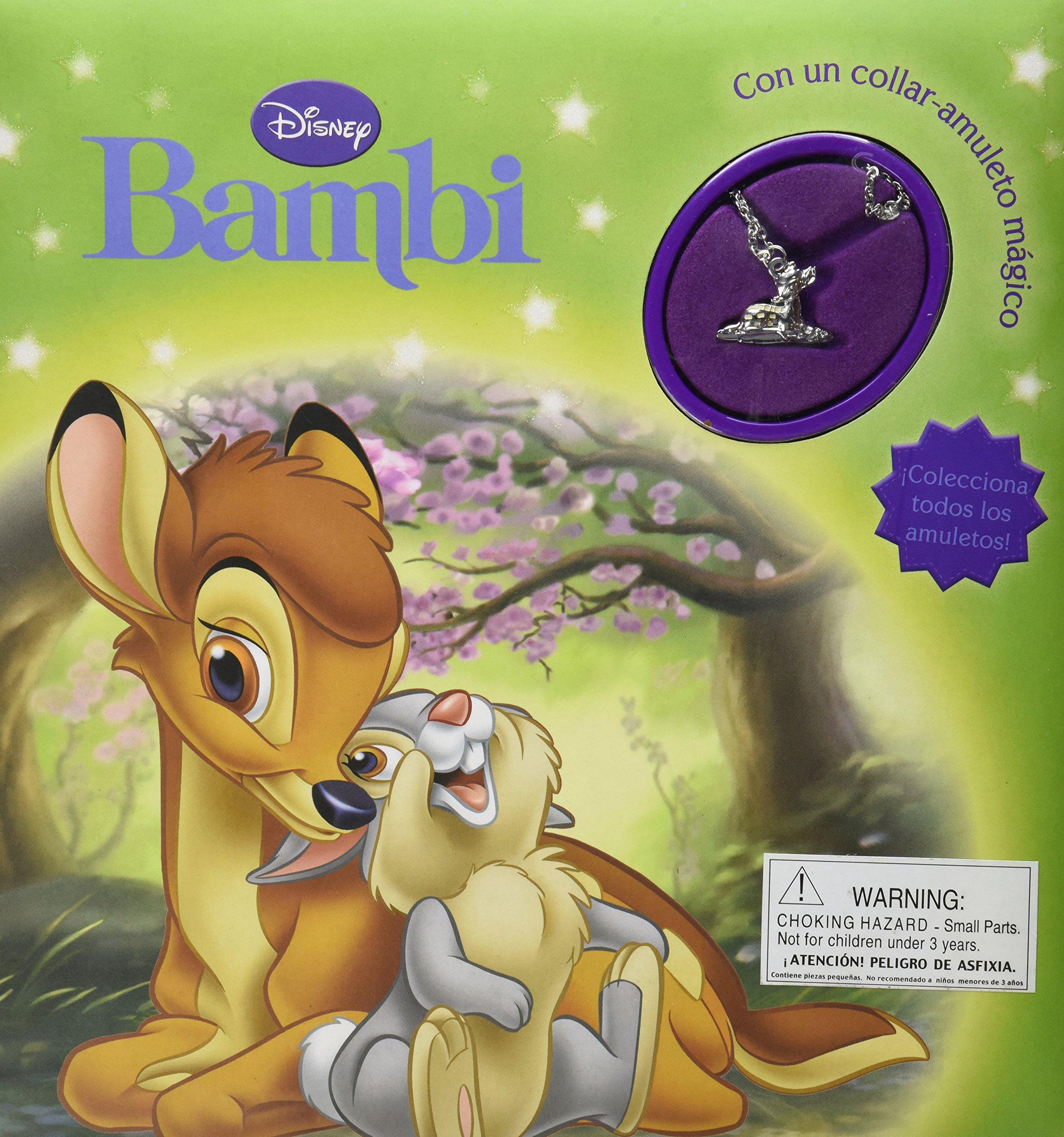 Read Online Disney Bambi con un collar-amuleto magico (Disney Charm) (Spanish Edition) pdf epub