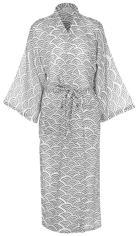 Susannah Cotton Designer Morgenmantel Premium Bio Baumwolle Frauen