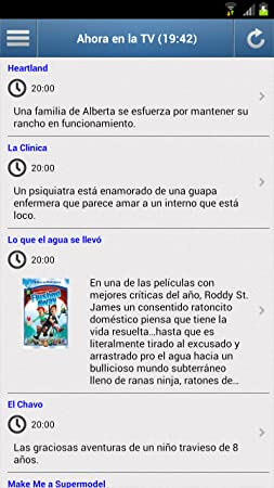 Amazon.com: Television for Mexico: Appstore for Android
