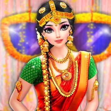 Amazon.com South Indian Bride Wedding Salon , Dress Up and