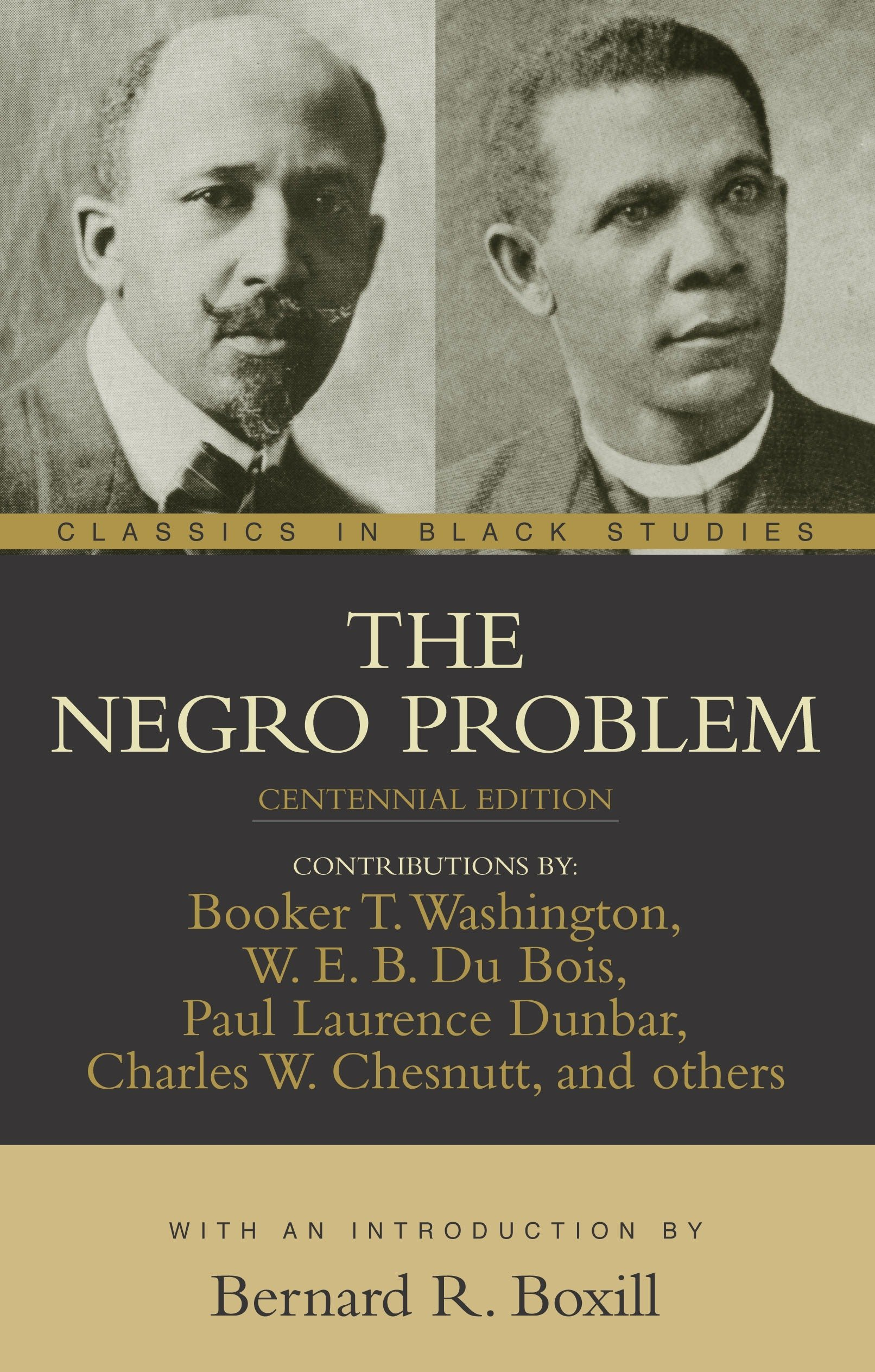 the negro problem classics in black studies