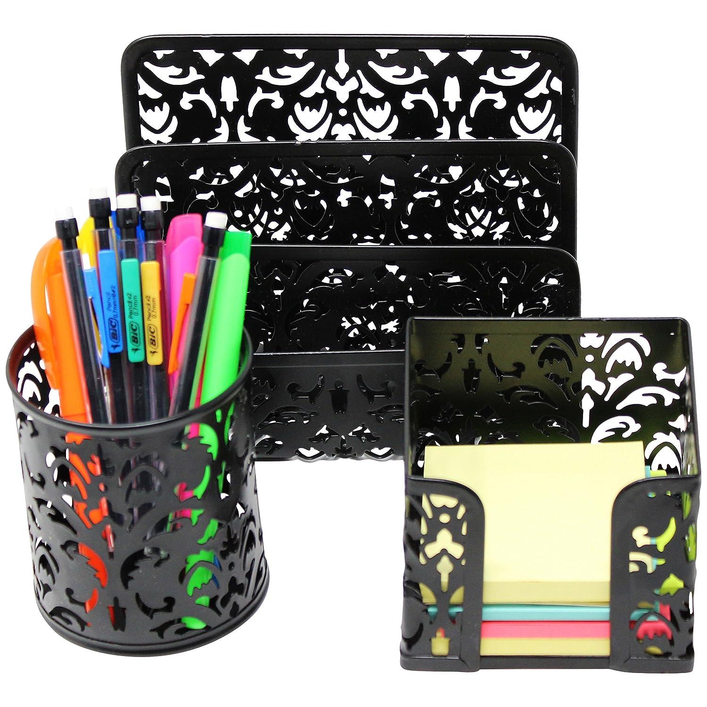 Piece Mesh Office Organizer Accessories Image 3