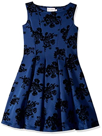 52a2d892ba67 Amazon.com: fiveloaves twofish Womens Adore Fit N Flare Dress (Big Kids):  Clothing