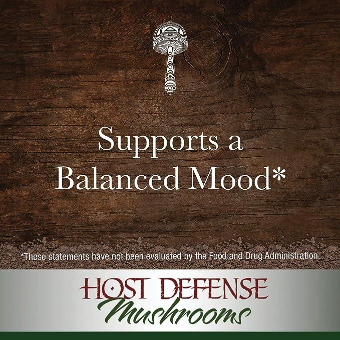 Host Defense - Lions Mane Extract, Memory & Nerve Support, 30 Servings (1 oz): Amazon.es: Salud y cuidado personal