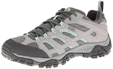 Merrell Women's Moab Waterproof Hiking Shoe, Dusty Olive, ...