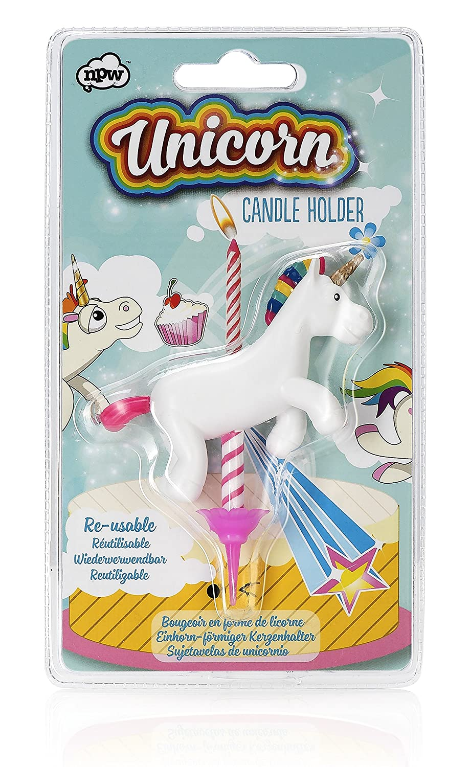 Amazon.com: NPW Pop Fix Giant Inflatable Magical Unicorn Pool Ring Float: Toys & Games
