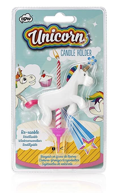 Buy NPW USA Novelty Unicorn Birthday Candle Holder Online At Low Prices In India