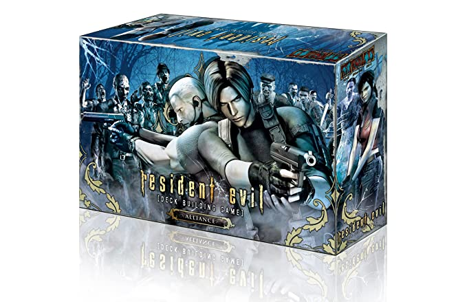 Amazon.com: Resident Evil Deck Building Game – Alianza ...