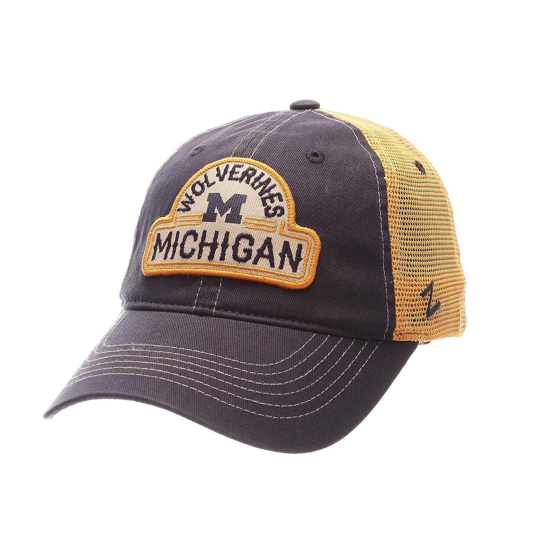 NCAA Zephyr ruta Gorra de malla ajustable gorro, Michigan ...