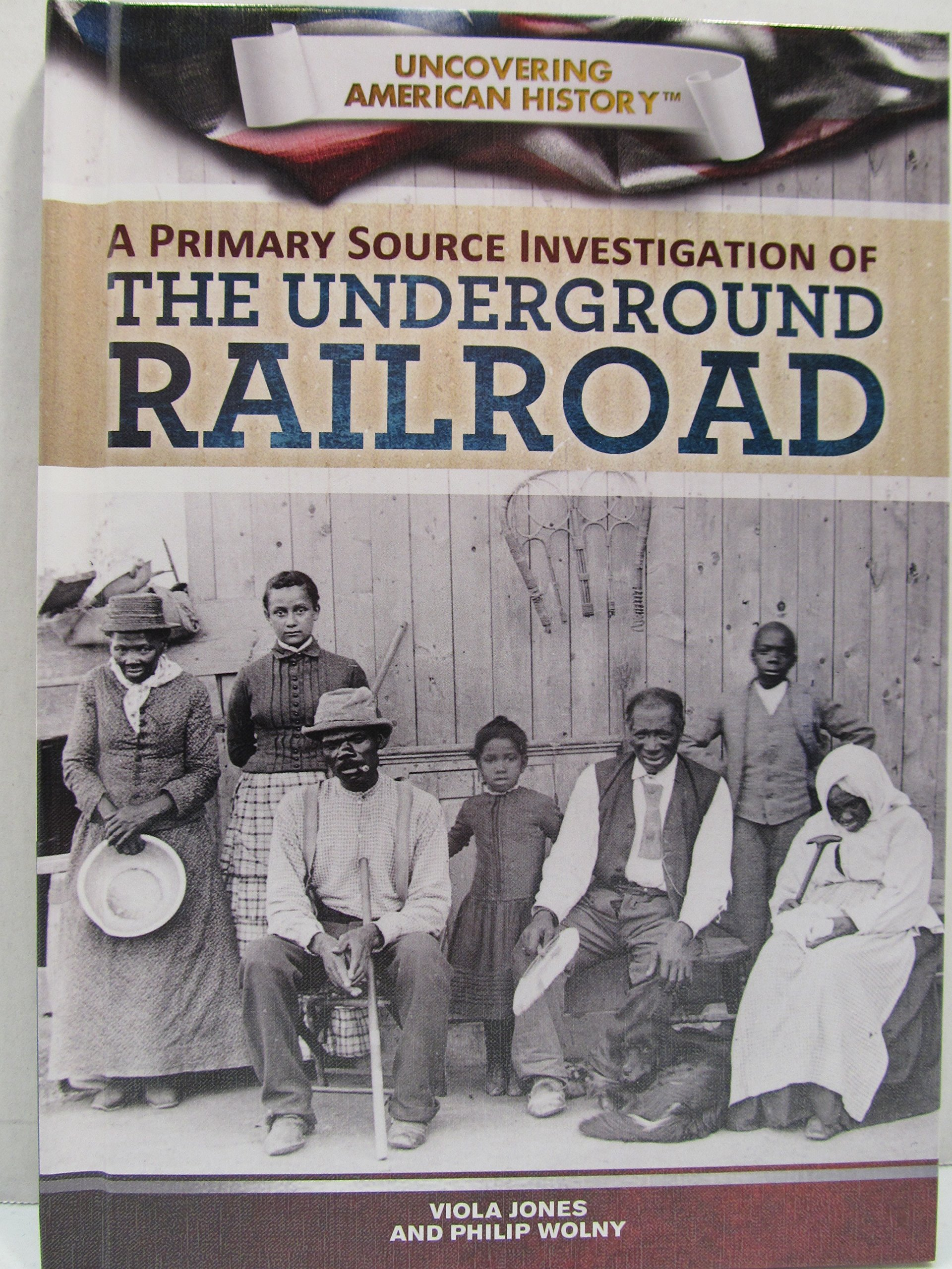 Download A Primary Source Investigation of the Underground Railroad (Uncovering American History) pdf