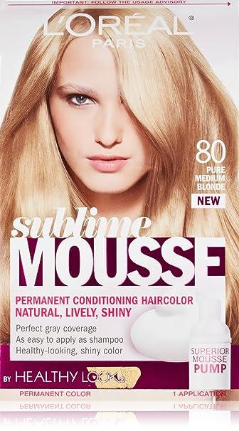 Amazon.com : L\'Oreal Paris Sublime Mousse by Healthy Look Hair Color ...
