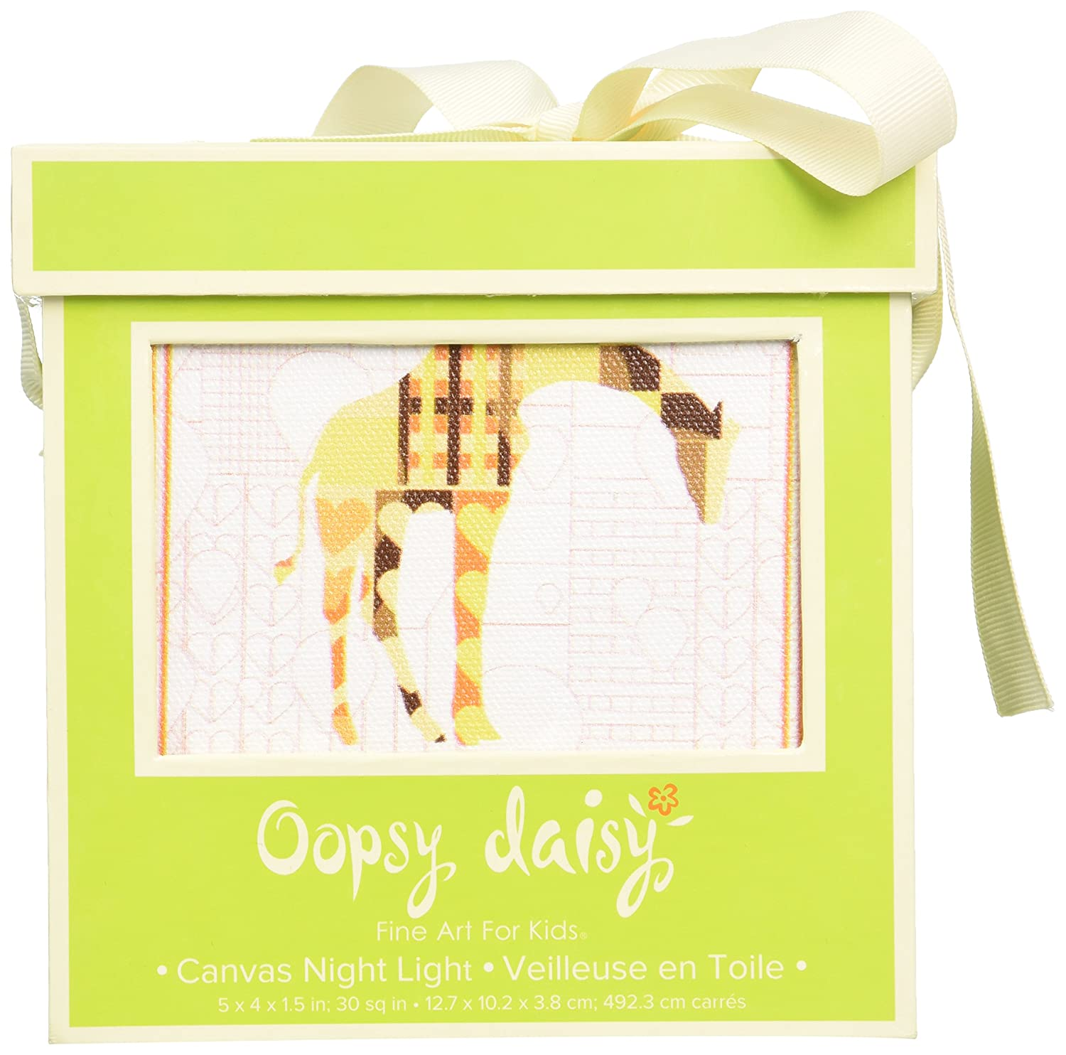 Amazon.com: Oopsy Daisy A to Z Animal Prints Night Light, Giraffe, 5 ...