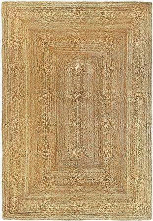 Hamid Tapis Jute Naturel Alhambra Tapis 100 Fibre De Jute Naturel 120x170cm