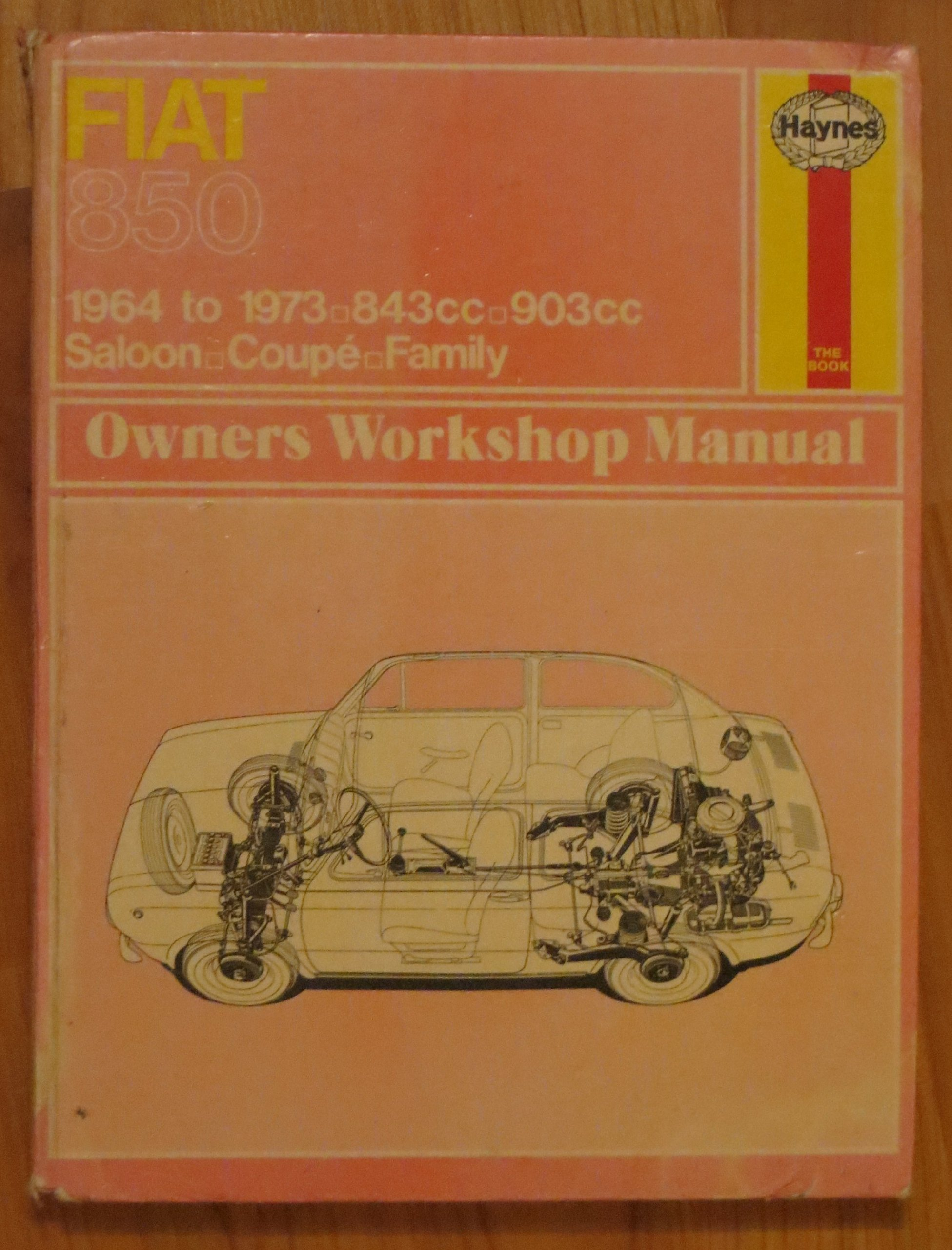 buy fiat 850 owner s workshop manual service repair manuals book rh amazon in Fiat 124 Fiat 850 Abarth