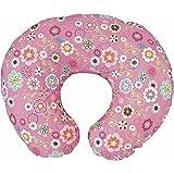 Chicco Boppy - Cuscino per allattamento con federa in cotone, motivo: fiori selvatici