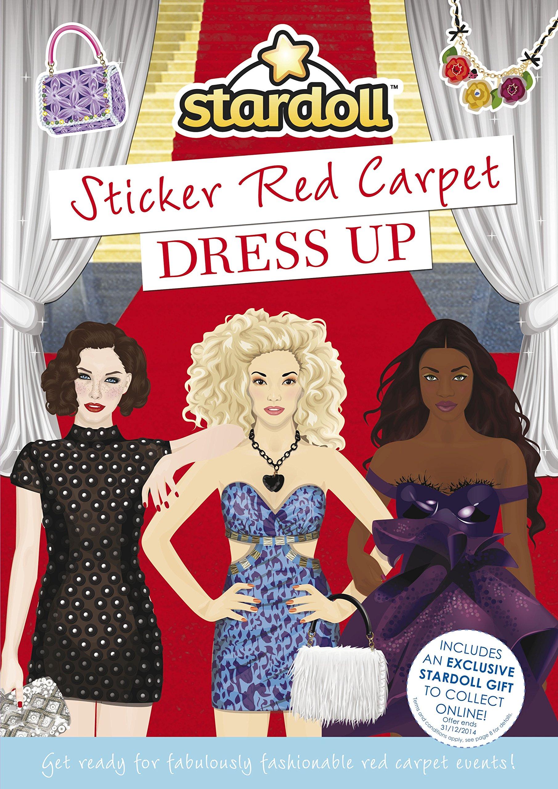 Stardoll: Sticker Red Carpet Dress Up ebook