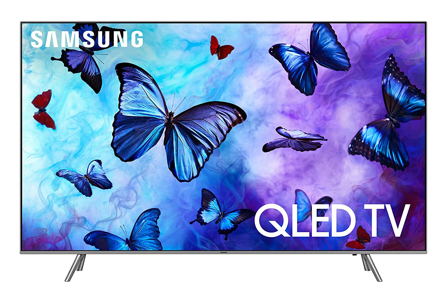 Samsung QN75Q6 Flat 75' QLED 4K UHD 6 Series Smart TV 2018 [US Version] Samsung Child Code for Wireless Accessories QN75Q6FNAFXZA