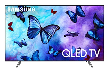 "2251857a3 Amazon.com  Samsung QN65Q6FN FLAT 65"" QLED 4K UHD 6 Series Smart TV ..."