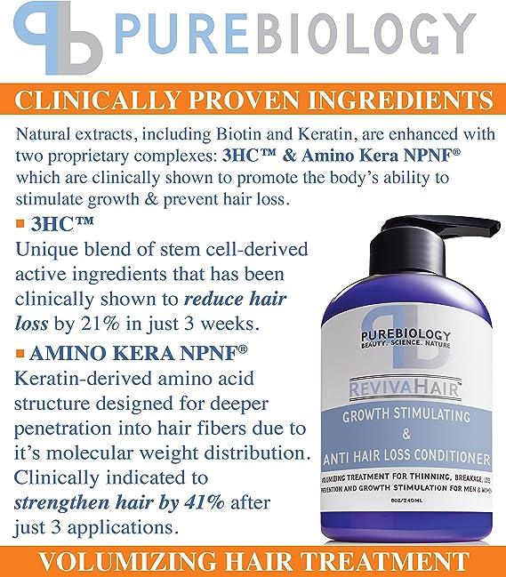 Acondicionador estimulante para el crecimiento del pelo (unisex ...
