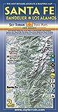 Santa Fe, Bandelier & Los Alamos Trail Map 2nd Edition
