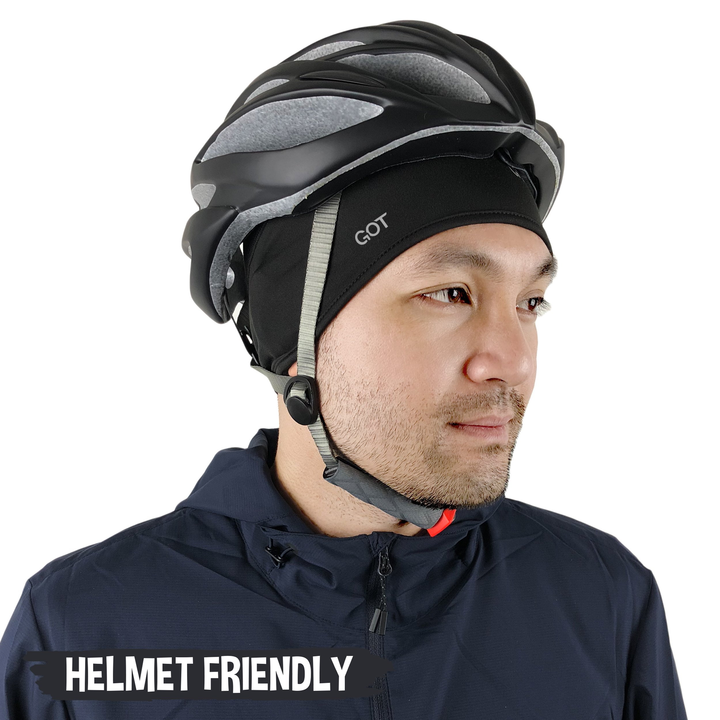 GOT Sports Skull Cap/Helmet Liner/Beanie for Running, Cycling, Motorcycle Riding, Skiing. Thermal Retention and Moisture Wicking Technology by GOT Sports (Image #3)