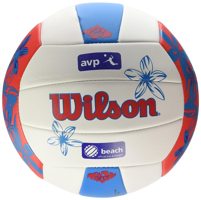 Wilson Hawaii AVP Floral de volley-ball Wilson Ballon de Beachvolley Extérieur Pour amateurs AVP Hawaii