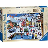 Ravensburger 13988 Leisure Days No.3 – The Winter Village, 1000pc Jigsaw Puzzle,