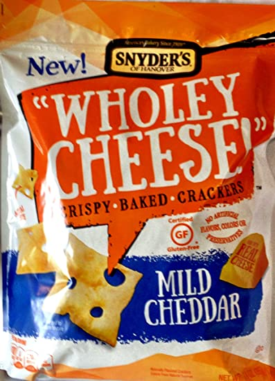 Snyders Wholey Cheese Crispy Baked Cheese CrackersOz