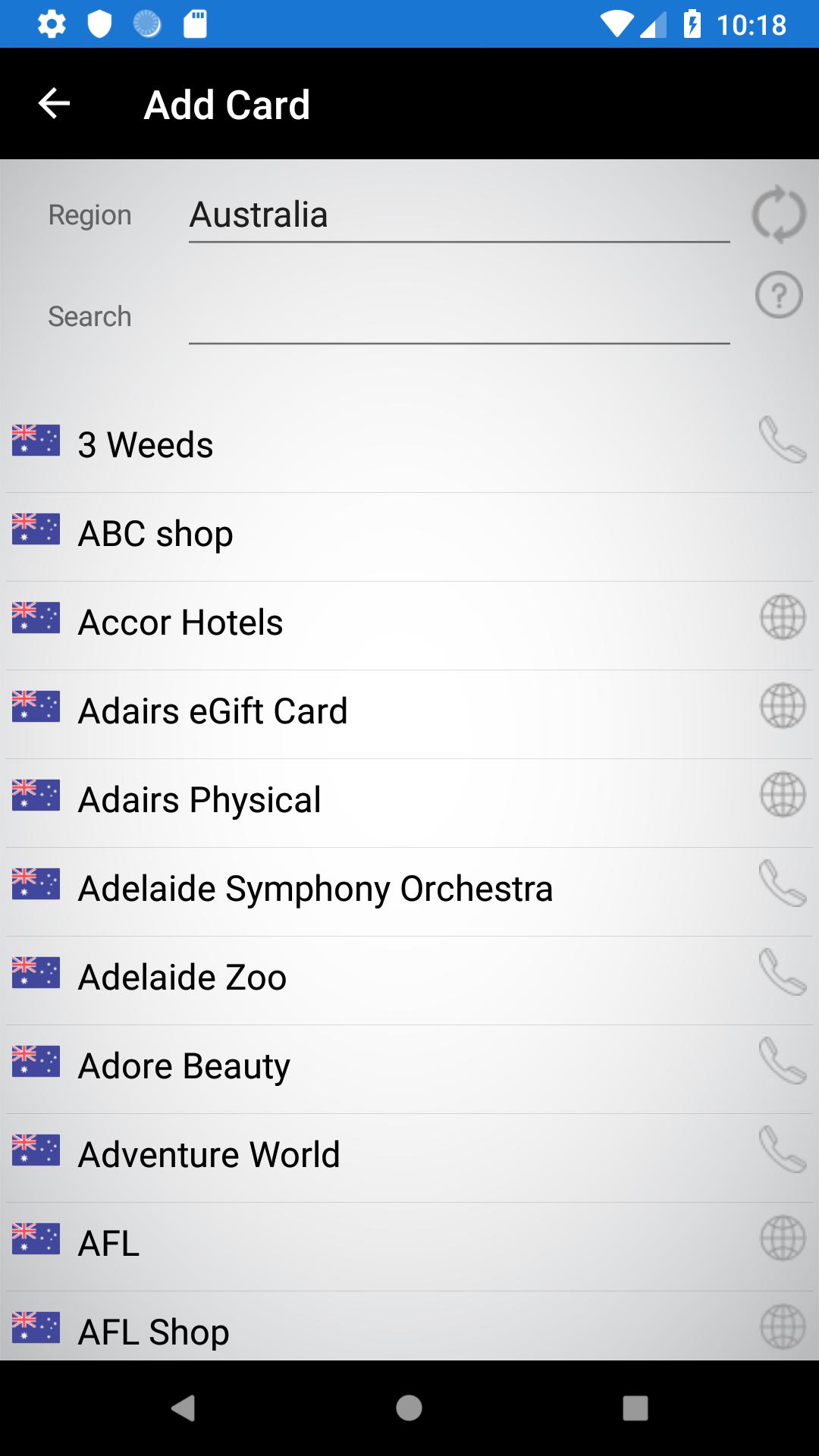 Gift Card Balance+ (balance check of gift cards): Amazon com au