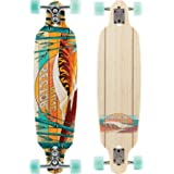 Sector 9 Shoots Complete 34 Inch Bamboo Drop Through Longboard for Carving