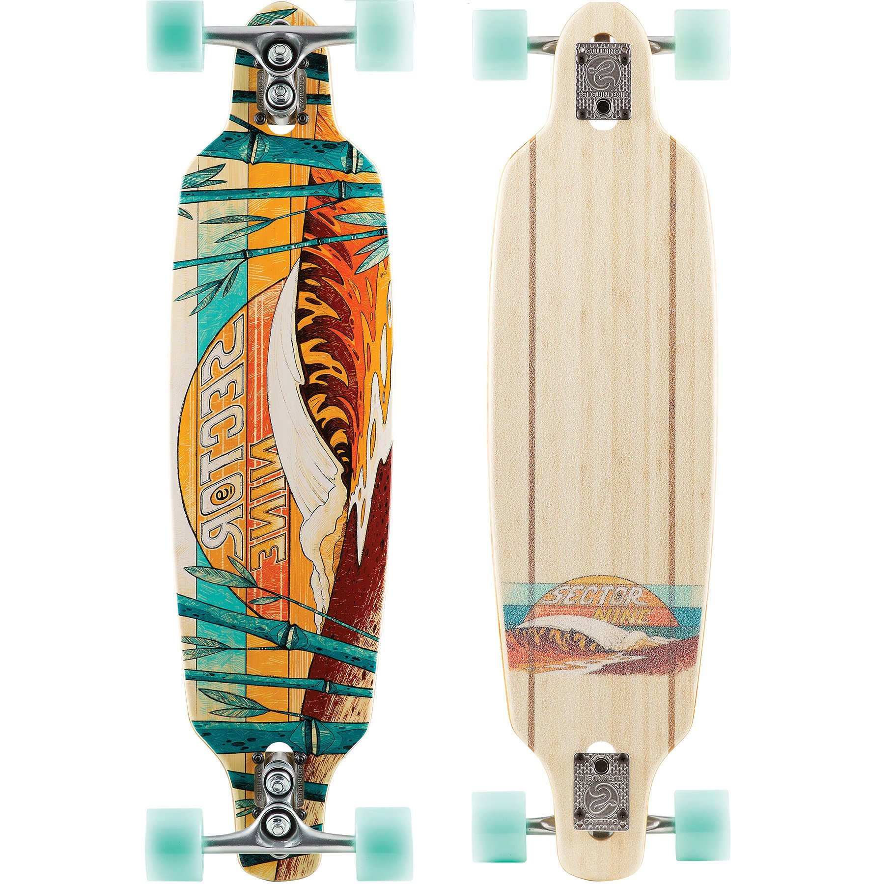 Sector 9 Bamboo Series Shoots 33.5'' Complete Longboard by Sector 9