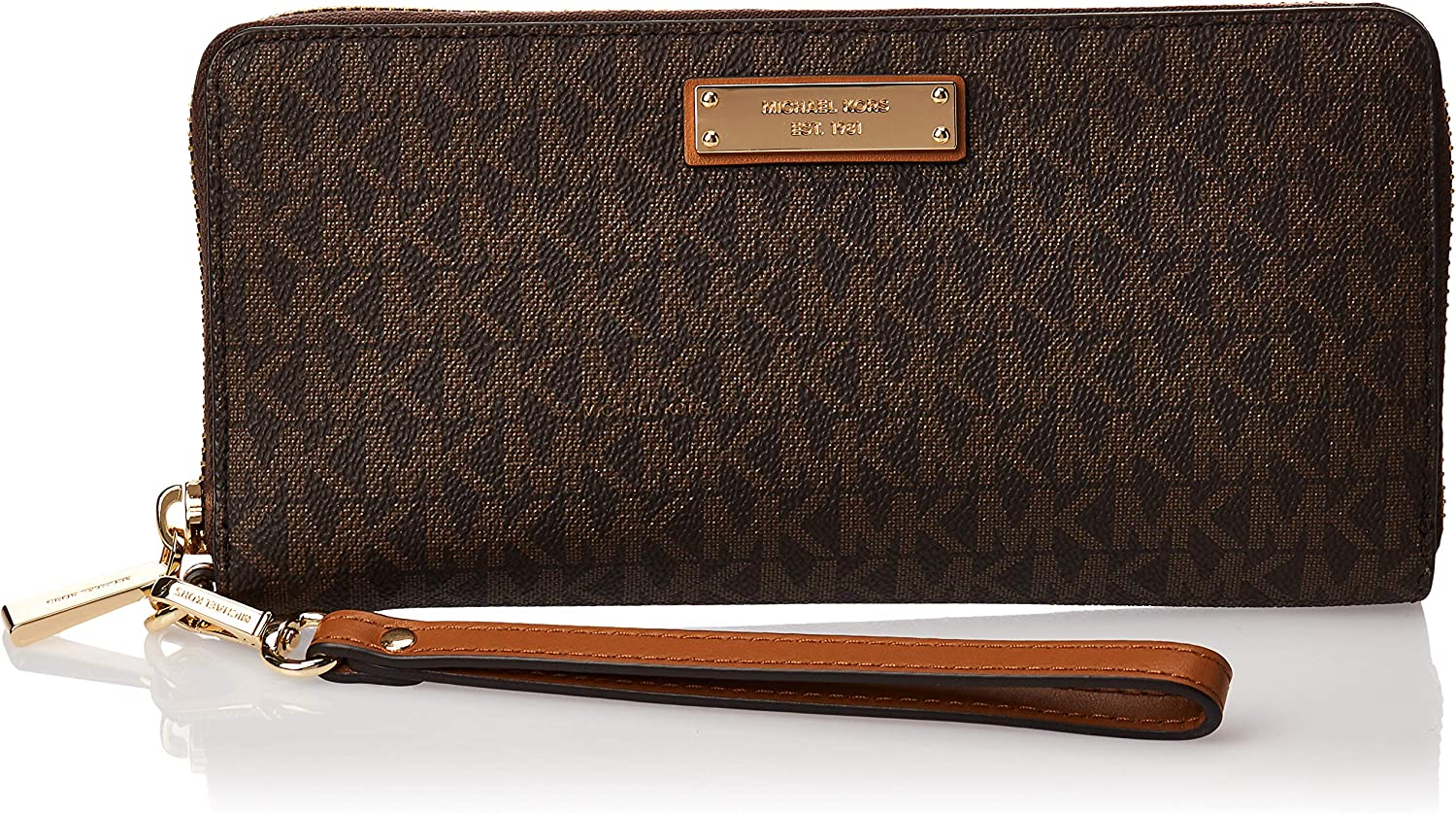 MICHAEL Michael Kors Travel Continental Brown One Size