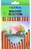 LYRA Waldorf Selection Unlacquered Triangular Giant Colored Pencils, Set of 12 Super Ferby (3711121)