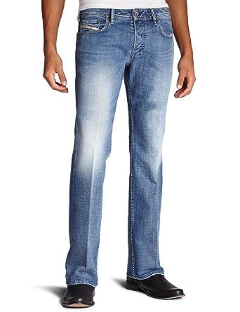 6b11f1199c7 Amazon.com  Diesel Men s Zatiny Slim Micro-Bootcut Jean 008AT  Clothing