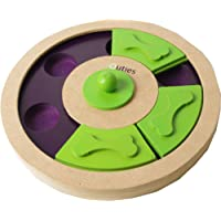 Pet Brands Iquties Treat Wheel Dog Toy